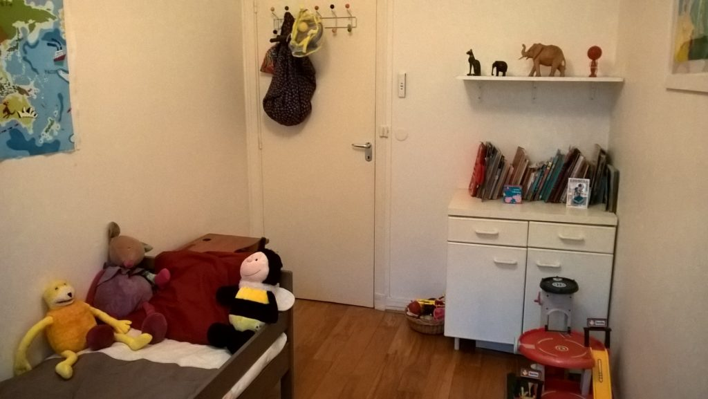organise children's room