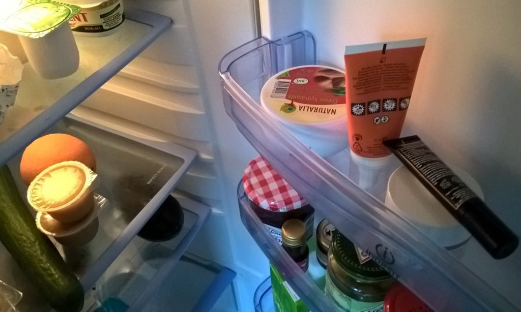 sort fridge
